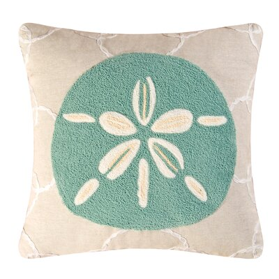 Sonette Dollar Cotton Throw Pillow