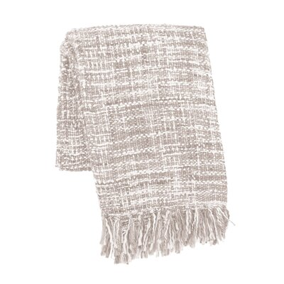 Stanley Space Dyed Throw Color: Oatmeal