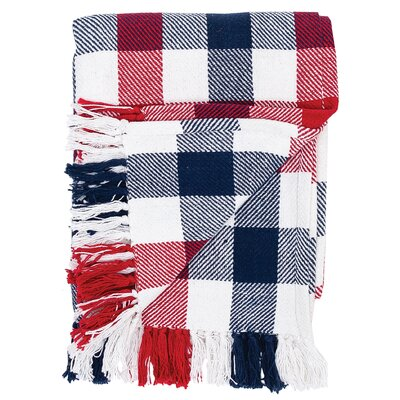 Atarah Plaid Cotton Throw
