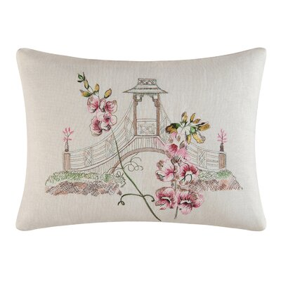 Garden Folly Accent Cotton Lumbar Pillow