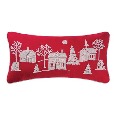 Greensburg Peaceful Village Cotton Lumbar Pillow