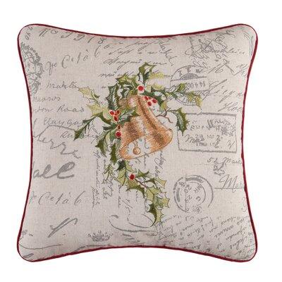 Gallaway Christmas Bells Throw Pillow
