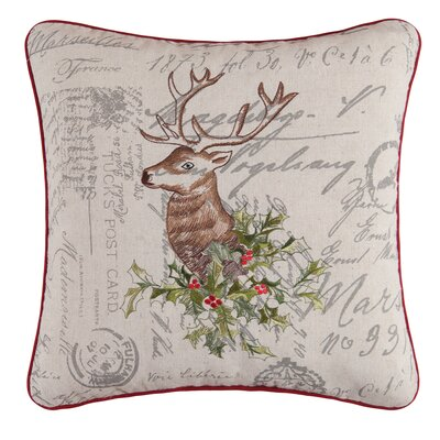 Graves Buck Throw Pillow
