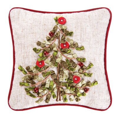 Haynes Tree Ribbon Art Throw Pillow (Set of 2)