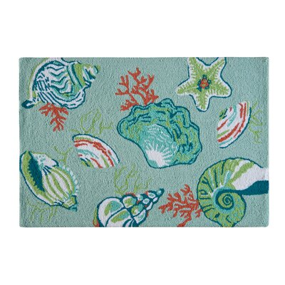 Mil Coastal Blue Area Rug