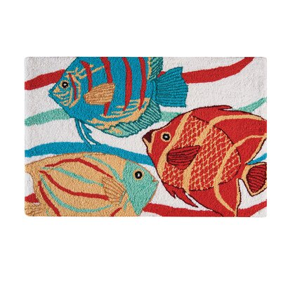 Rema Tropical Blue Area Rug