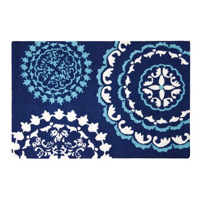 Heffner Blue Area Rug