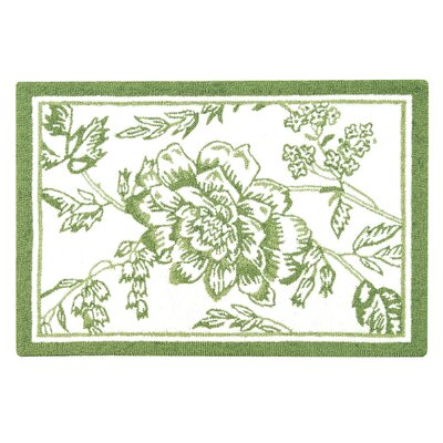 Beckwith Moss Green Area Rug