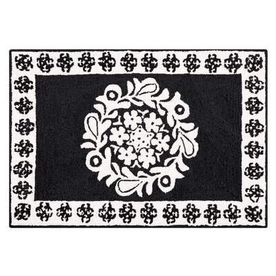 Newstead Black Area Rug