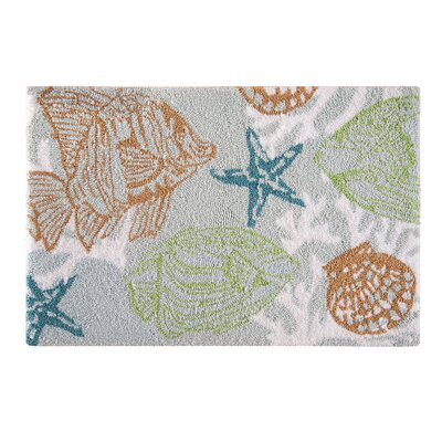 Renda Coastal Parfait Green Area Rug