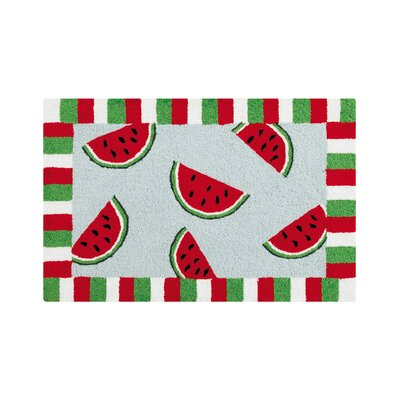 Tatum Watermelon Red Area Rug