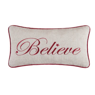 Believe Lumbar Pillow
