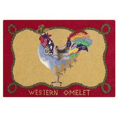 Gibbs Western Omelet Wool Tan Area Rug