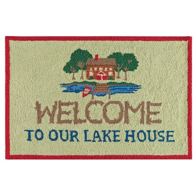 Giles Welcome to Our Lake House Kitchen Mat