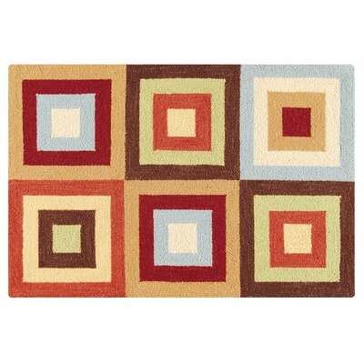 Van Nest Wool Tan Area Rug