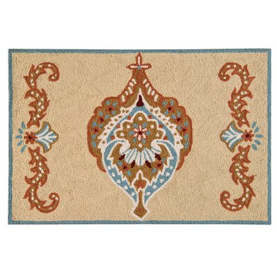 Rockcrest Wool Tan Area Rug