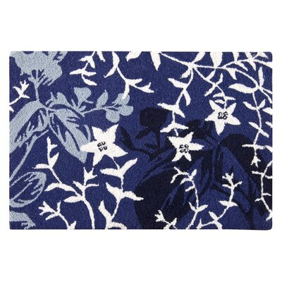 Hopwood Wool Blue Area Rug