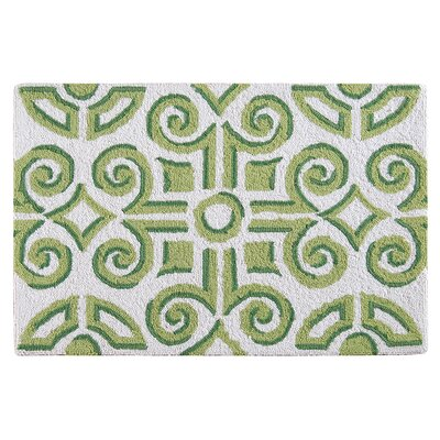 Stony Creek Wool Green Area Rug