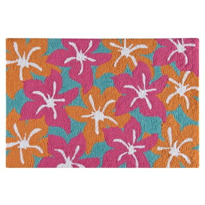 Bach Wool Pink/Orange Area Rug