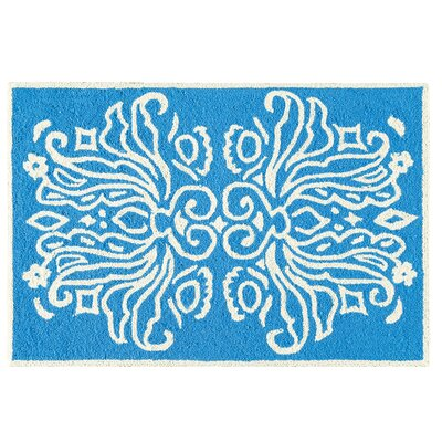 Baccus Wool Blue Area Rug