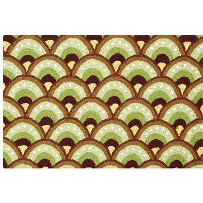 Van Reipen Wool Green Area Rug