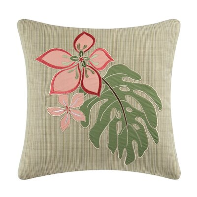 St Crolx Embroidered Throw Pillow