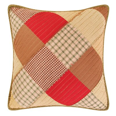 Oak Ridge Stripes Cotton Throw Pillow