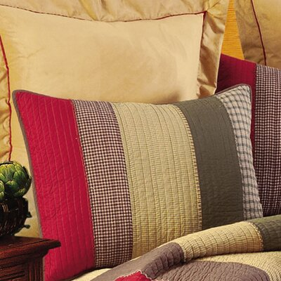 Oak Ridge Stripes Standard Sham (Set of 2)