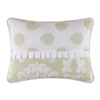 Providence Accent Cotton Lumbar Pillow Color: Cucumber