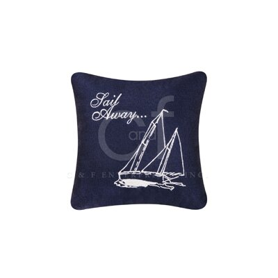 Sail Away Linen Accent Cotton Throw Pillow (Set of 2)