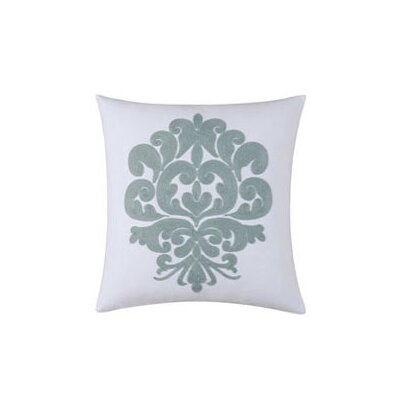 Providence Accent Cotton Throw Pillow Color: Chambray