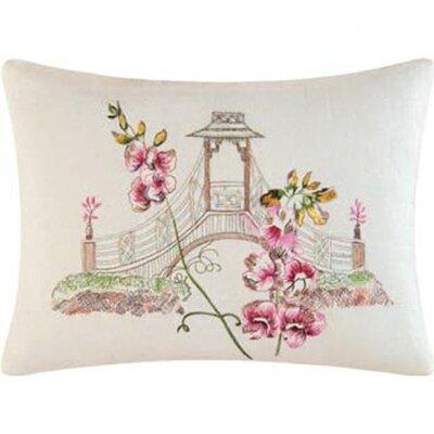 Garden Folly Accent Cotton Lumbar Pillow