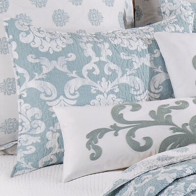 Providence Cotton Sham Color: Chambray