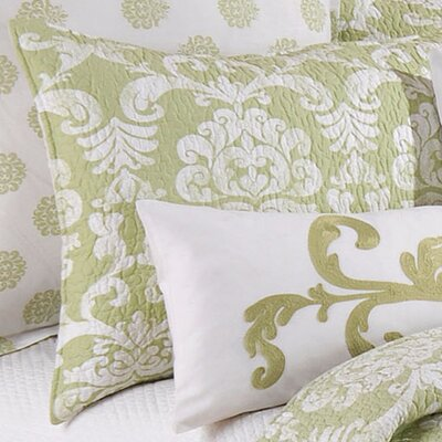 Providence Cotton Sham Color: Cucumber