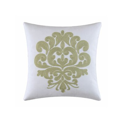 Providence Accent Cotton Throw Pillow Color: Cucumber