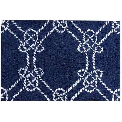 Knotty Buoy Blue Area Rug Rug Size: 2 x 3