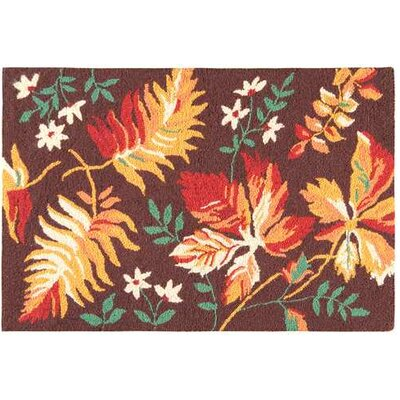 Adirondack Red/Brown Area Rug Rug Size: 2 x 3