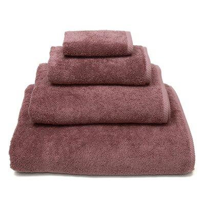 100% Turkish Cotton Soft Twist 4 Piece Towel Set Color: Sugar Plum