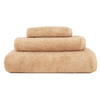 Soft Twist 100% Turkish Cotton 3 Piece Towel Set Color: Warm Sand