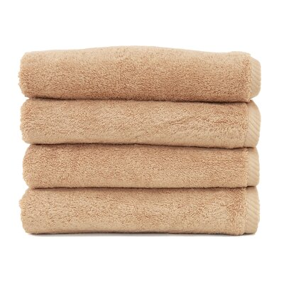 Soft Twist 100% Turkish Cotton Hand Towel Color: Warm Sand