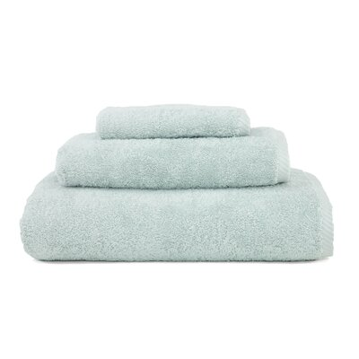 Soft Twist 100% Turkish Cotton 3 Piece Towel Set Color: Soft Aqua
