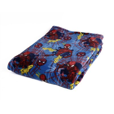Spider-Man Ultra Soft Blanket 52243-FLE-150A-SPID