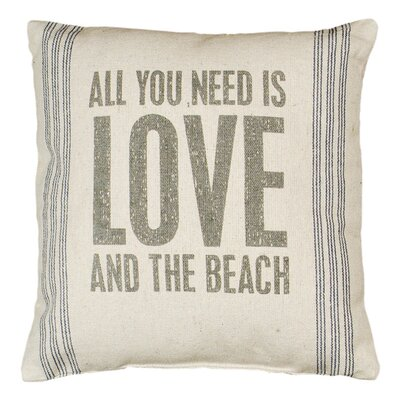 And the Beach Pillow