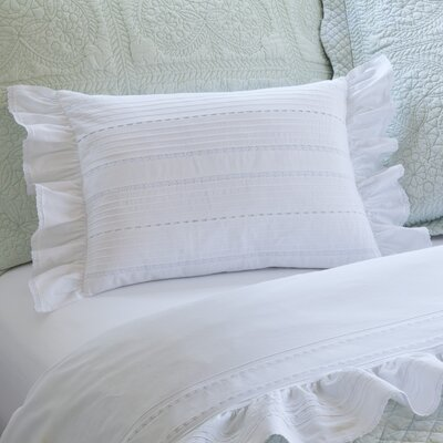 Elisa Boudoir Cotton Lumbar Pillow