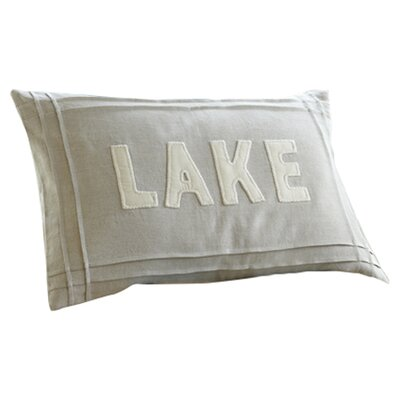 Natural Lake Linen Lumbar Pillow