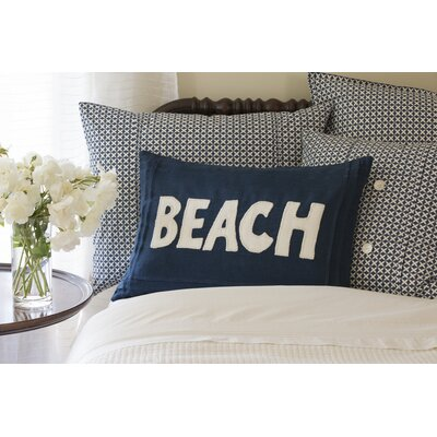 Beach Linen Lumbar Pillow