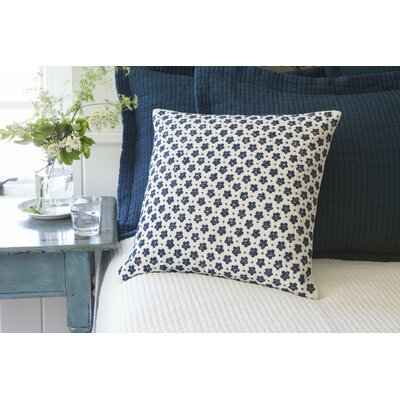 Anniebelle Embroidered Porch Linen Throw Pillow