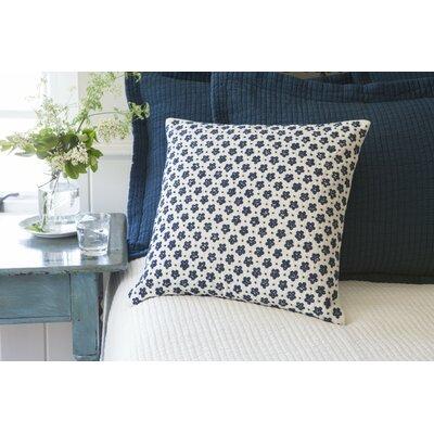 Anniebelle Embroidered Porch Linen Throw Pillow