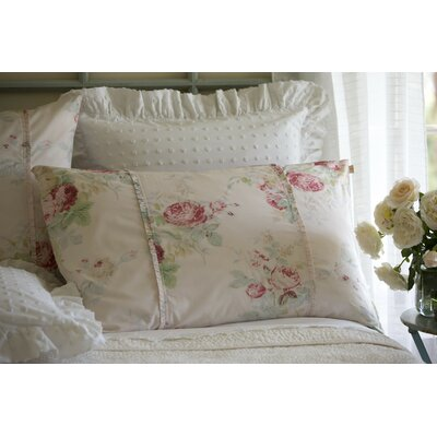 Shore Rose Petal Sham Size: King