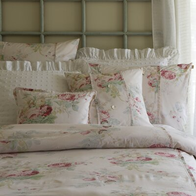 Shore Rose Petal Duvet Size: King